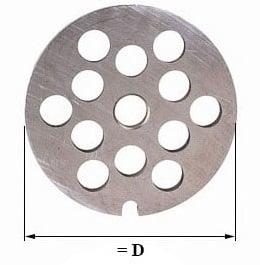 Диаметр решетки zelmer